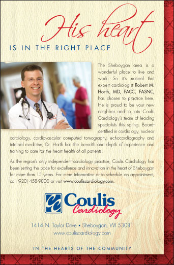 Avow Portfolio: Cardiology Communications  Cardiology Ads